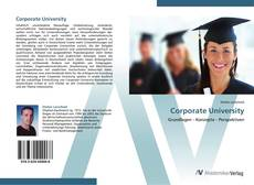 Bookcover of Corporate University