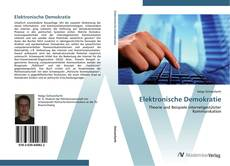 Elektronische Demokratie kitap kapağı