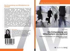 Bookcover of Die Entsendung von Mitarbeitern ins Ausland