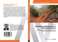 Bookcover of Qualitätszertifizierung im Wandertourismus