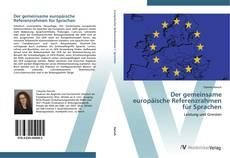 Buchcover von Der gemeinsame europäische Referenzrahmen für Sprachen