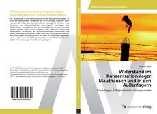 Buchcover von Widerstand im Konzentrationslager Mauthausen und in den Außenlagern