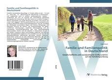 Portada del libro de Familie und Familienpolitik in Deutschland