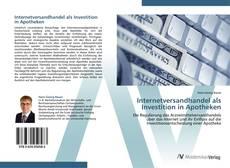 Internetversandhandel als Investition in Apotheken kitap kapağı