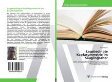 Buchcover von Lagebedingte Kopfasymmetrie im Säuglingsalter