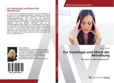 Portada del libro de Zur Soziologie und Moral der Abtreibung