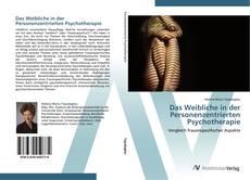 Portada del libro de Das Weibliche in der Personenzentrierten Psychotherapie
