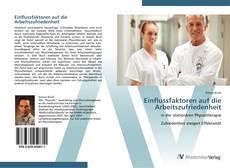 Buchcover von Einflussfaktoren auf die Arbeitszufriedenheit