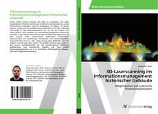 Copertina di 3D-Laserscanning im Informationsmanagement historischer Gebäude