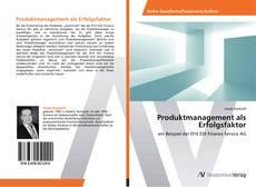 Couverture de Produktmanagement als Erfolgsfaktor