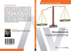 Buchcover von Menschenwürde