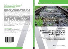 Bookcover of Einfluss von Unterbau und Wasserwegigkeit auf die Gleislagequalität
