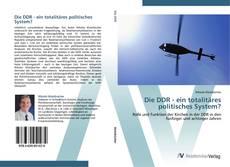 Buchcover von Die DDR - ein totalitäres politisches System?