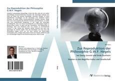 Copertina di Zur Reproduktion der Philosophie G.W.F. Hegels