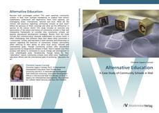 Bookcover of Alternative Education