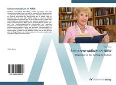 Portada del libro de Seniorenstudium in NRW