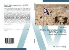 Couverture de Public Diplomacy zwischen der BRD und Israel