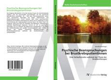 Buchcover von Psychische Beanspruchungen bei Brustkrebspatientinnen