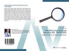 Обложка The McCarran Internal Security Act, 1950-2005