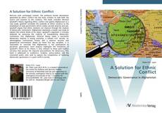 Bookcover of A Solution for Ethnic Conflict