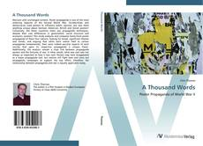 Bookcover of A Thousand Words