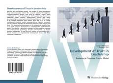 Buchcover von Development of Trust in Leadership