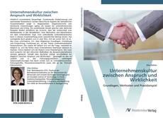 Bookcover of Unternehmenskultur zwischen Anspruch und Wirklichkeit