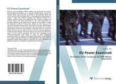 Bookcover of EU Power Examined