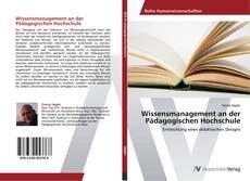 Portada del libro de Wissensmanagement an der Pädagogischen Hochschule