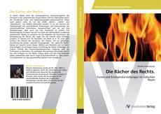 Bookcover of Die Rächer des Rechts.