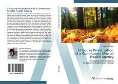 Portada del libro de Effective Privatization  of a Community Mental Health Agency