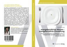 Capa do livro de mangelernährtes Wissen - mangelernährte Einstellung
