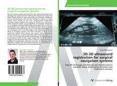 Buchcover von 3D-3D ultrasound registration for surgical navigation systems