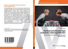 Copertina di Partnerschaftsverträge zwischen Lebensgefährten