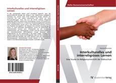 Interkulturelles und interreligiöses Lernen kitap kapağı