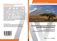 Entwicklungszusammenarbeit und Konfliktprävention kitap kapağı