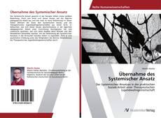 Bookcover of Übernahme des Systemischer Ansatz
