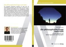 Bookcover of Die philosophische Frage nach Gott