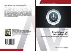 Beurteilung von Internetquellen kitap kapağı