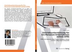 Buchcover von Vertriebsunterstützung für Ein-Personen-Unternehmen mittels OTRS