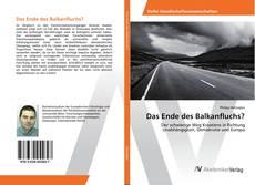 Bookcover of Das Ende des Balkanfluchs?