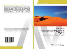 Couverture de Nagarjuna and Quantum Physics