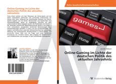Online-Gaming im Lichte der deutschen Politik des aktuellen Jahrzehnts kitap kapağı