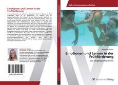 Buchcover von Emotionen und Lernen in der Frühförderung