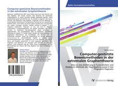 Bookcover of Computer-gestützte Beweismethoden in der extremalen Graphentheorie