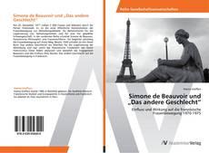 """Bookcover of Simone de Beauvoir und """"Das andere Geschlecht"""""""