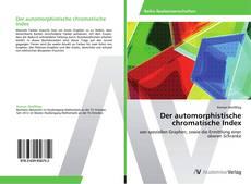 Bookcover of Der automorphistische chromatische Index