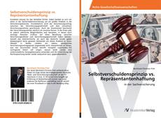 Buchcover von Selbstverschuldensprinzip vs. Repräsentantenhaftung