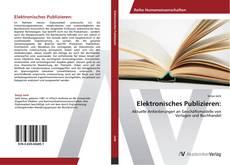 Bookcover of Elektronisches Publizieren: