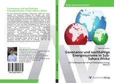 Borítókép a  Govenance und nachhaltige Energiesysteme in Sub-Sahara Afrika - hoz
